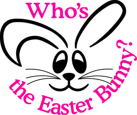 Send Easter wishes with our super cute little bunny.  Great for vinyl cuts.  Love it with a sparkling glitter film on special occasion tees!