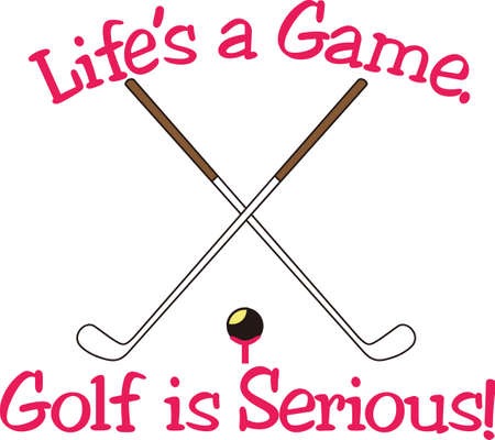 If you watch a game, its fun. If you play it, its recreation. If you work at it, its golf.