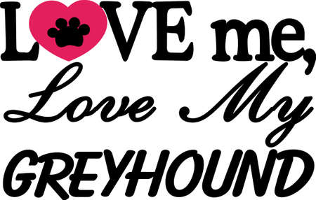 canine: Let this adorable design leave a paw print on your heart.  Customize gifts for your dog lovers with this design on T-shirts, Caps, Pajamas, Bags, Shirts, and Dog Bedding.