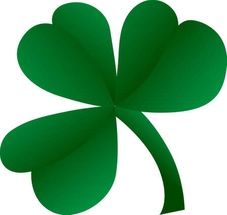 erin: A big lucky clover is just the ticket for St. Patricks Day.  Create the perfect tee with a simple vinyl cut of this design. Illustration