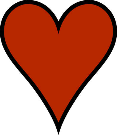 A simple heart says so much.  Add your own text for a personal message!  Perfect for SVG cuts or printing your own Valentines.