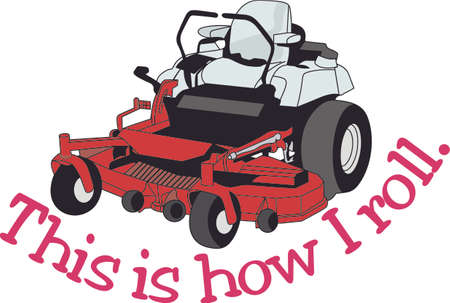 Does your little tyke dream of driving a tractor around If they didnt before, they will now!   A great design on t-shirts, sweatshirts and more. Ilustracja