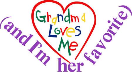 De liefde van oma is zo bijzonder. Waarom deze liefde niet tentoonstellen op een super schattig peutert-shirt!