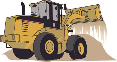 Petits garçons grands garçons - aiment gros véhicules de construction! Parfait pour un logo ou une veste de travailleurs de la construction ou de décoration sur l'habillement pour les petits gars. Logo