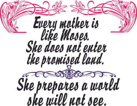 swish: Show a treasured woman just how special she is with this design on your Mothers Day projects! Illustration