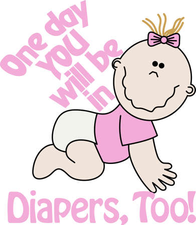 Looking to add style to your babys wardrobe  This design is perfect on bibs, onsies and more!