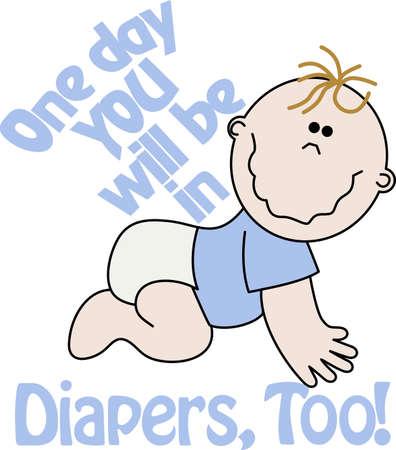 Mirando para añadir estilo al guardarropa de su bebé Este diseño es perfecto en los baberos, los onsies y más! Foto de archivo - 51226425