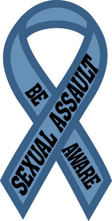 ailing: Spread awareness to raise funds to end rape and sexual abuse all year round with this design on shirts, t-shirts, bags and more!