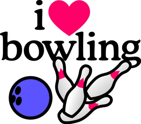 This design is great to make unique gifts for your bowling aficionado!  Will look perfect on bags, shoes and bowling accessories.