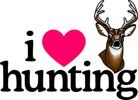 With a perfect design to please the game hunter, add fun and creativity to your projects! Illustration