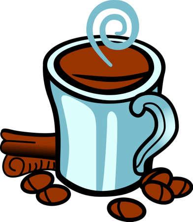 Haal deze dagelijkse sleur aan een project voor uw koffie minnaar !. Het is een perfecte pick-me-up voor uw huis projecten zijn opgenomen. Stock Illustratie