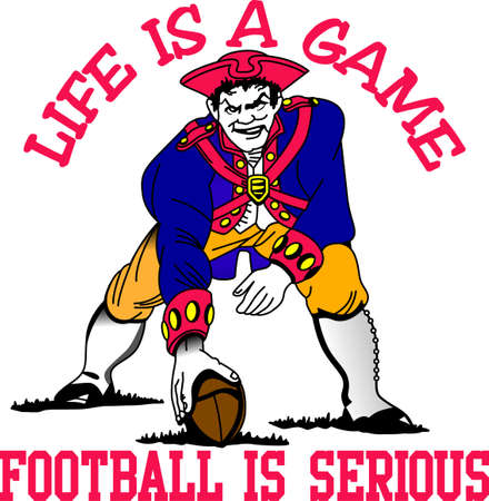 A great design for the Patriot fans out there. Get your favorite team logo on t-shirts, retro shirts, polos and more.