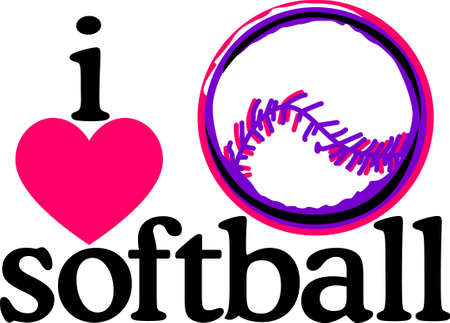 Looking for the perfect Birthday or Christmas gift Embroider this design on clothes, towels, pillows, gym bags, quilts, t-shirts, jackets or wall hangings for your softball pro!