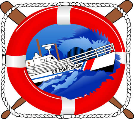 A perfect design for your sailor, boater or lover of all things nautical embroider on clothes, towels,  gear bags,  t-shirts, jackets or wall hangings.