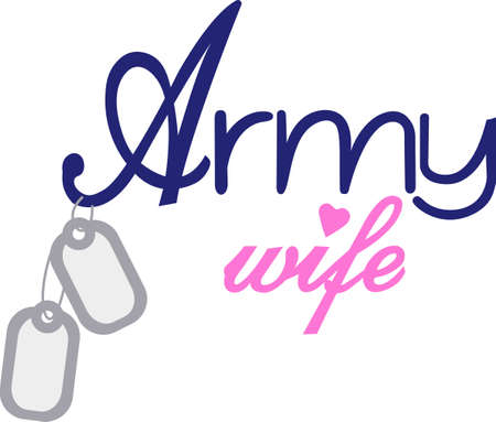 Being an Army wife is a privilege and an honor! Show your pride in your husbands service with this design on t-shirts, sweatshirts and more.
