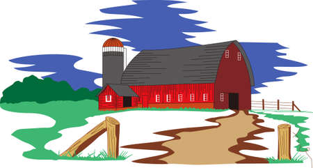 grain storage: Farms and farm animals are an enduring theme with the young and young at heart.  Create unique gifts for loved ones with this design on t-shirts, sweatshirts, totes, wall hangings and more!