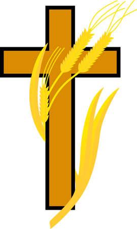 Este diseño es perfecto para una variedad de proyectos de religiosos con temas tales como cubiertas de la Biblia y favoritos, primera comunion regalos, y mucho más. Foto de archivo - 51204630