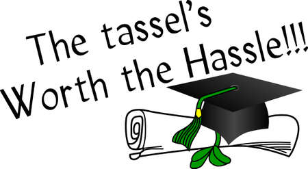apparel part: Honor the graduate with special creations in print or apparel.  We love this lovely design as a part of graduation party invites!