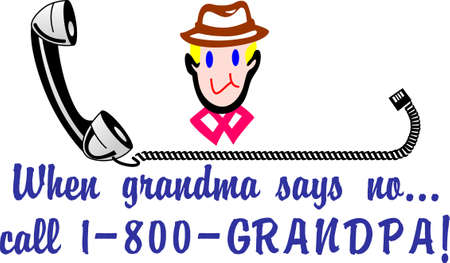 why not: Grandpas are so special.  Why not create something just for him  We love this whimsical design on home dcor and apparel.