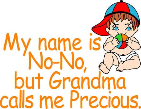 어떤 작은 것들은 그녀의 아니오 - 아니 그렇게 많이 그들은 그들의 이름이지만 할머니는 항상 그들을 소중한 찾을 수 있습니다!