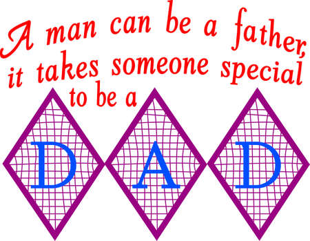 was: Daddy was real gentle with kids. Illustration