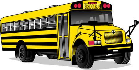 U vertrouwt uw kind de veiligheid van hun buschauffeur elke dag. Dit ontwerp is perfect voor hen te bedanken. Perfect voor een schoolbus of dagopvang driver voor kinderen. Stock Illustratie