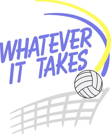 whatever: Looking for the perfect Birthday or Christmas gift Embroider this design on clothes, towels, gym bags, quilts, t-shirts, jackets or wall hangings for your volley ball player!