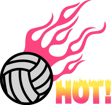 heart burn: Looking for the perfect Birthday or Christmas gift Embroider this design on clothes, towels, gym bags, quilts, t-shirts, jackets or wall hangings for your volley ball player!