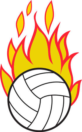 Team work makes the dream work. Add this image to a hat or shirt for the volleyball team.
