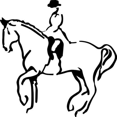 filly: A good rider can hear his horse speak but a great equestrian can hear his horse whisper. Add the whisper to your creations with this artistic equestrian design.