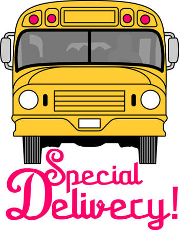 day care: You entrust your childs safety to their bus driver each day.  This design is perfect for thanking them! They will love it! Perfect for a school bus or day care driver for kids. Illustration
