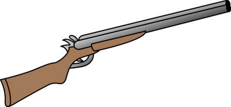 firearm: With a perfect design to please the game hunter, add fun and creativity to all your hunting projects.