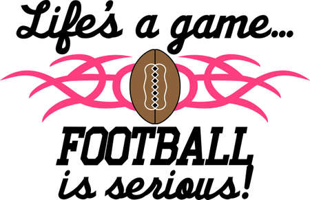 embroider: Looking for the perfect Birthday or Christmas gift Embroider this design on clothes, towels, gym bags, quilts, t-shirts, jackets or wall hangings for your football player!