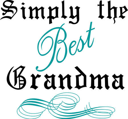 heartwarming: This heartwarming sayings design will make a great keepsake for grandma on framed embroidery,t-shirts, sweatshirts, towels and more.