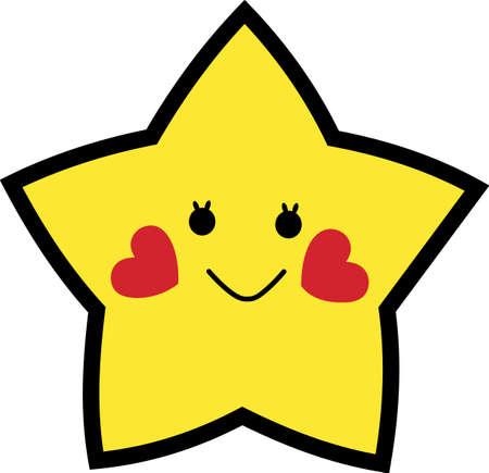 私たちの幸せなヒトデはここで笑顔で一日を明るきます。 子供の摩耗のための完璧なデザイン。 ビニールまたは画面でよく作品は印刷技術です。