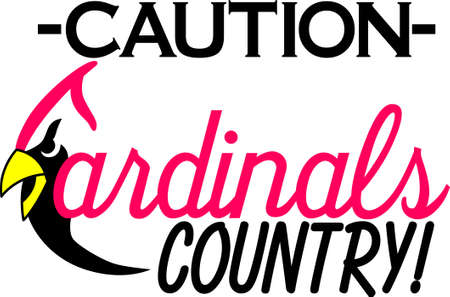 A great design for the Cardinals fans out there! Get your favorite team logo on t-shirts, retro shirts, polos and more!