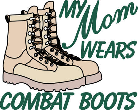 Having a mother in the Army is a privilege and an honor. Show pride in your mom's service with this design on t-shirts, sweatshirts and more.