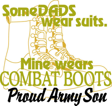 privilege: Having a father in the Army is a privilege and an honor! Show pride in your dads service with this design on t-shirts, sweatshirts and more. Illustration