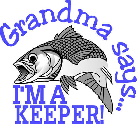 Get hooked to this relaxing hobby with this design on gear bags, fleece pullovers, T-shirts, and more for that fishing enthusiast in your life.