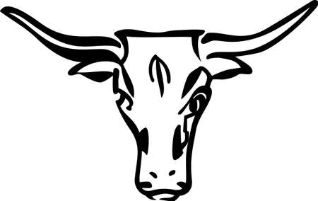 texas longhorn cattle: Get bullish with this design on your projects! Customize t-shirts, hoodies, sweatshirts and jackets for your team for the next event.