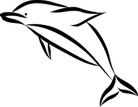 Add this dolphin design to towels and accessories for bath time.  Little one will love it.