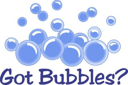 Bad tijd bubbels zijn zo'n leuke traktatie voor de kleine mensen. Deze belletjes maken een super decoratie voor baby's bad tijd!