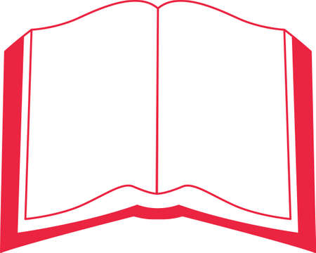 testament: Redwork creates a stunning effect on a solid background.  This Bible is perfect for church linens. Illustration