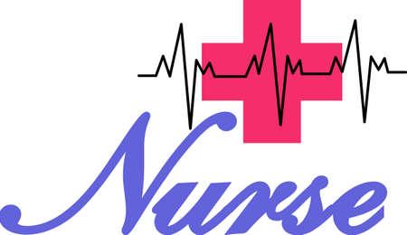 Ständige Aufmerksamkeit durch eine gute Krankenschwester kann von einem Chirurgen als große Operation genauso wichtig sein. Ehre, eine fantastische Krankenschwester mit diesem auffälligen Design. Großes T-Shirt-Kunst! Standard-Bild - 51219758