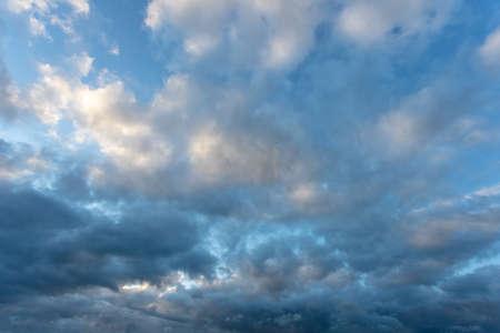 cloudy sky before a thunderstorm Stock fotó - 134718790