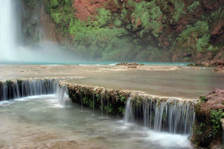 Havasu Falls located on the Havasupai Indian Reservation, Arizona photo