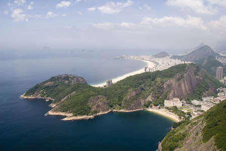 seen: Copacabana Beach as seen from Sugarloaf Mountain