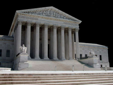 justices: United States Supreme Court in Washington, D C            Stock Photo