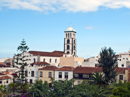 View garachico village on the island of Tenerife in Spain
