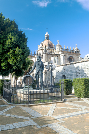 Cathedral of Jerez de la Frontera in Andalusia